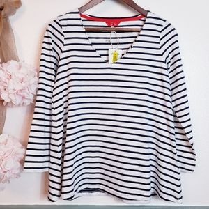 JOULES H Women's Vacay Everyday Swing Top size 4